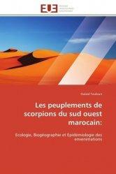 Les peuplements de scorpions du sud ouest marocain