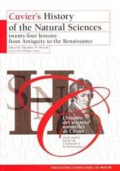 L'histoire des sciences naturelles de Cuvier