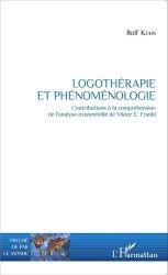 Logothérapie et phénoménologie