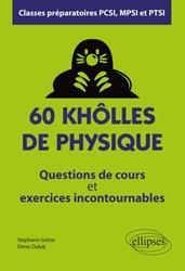 60 khôlles de physique
