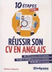 10 étapes pour réussir son CV en anglais