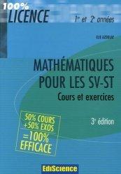 Mathématiques pour les SV-ST