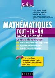 Mathématiques Tout-en-un 1re année BCPST