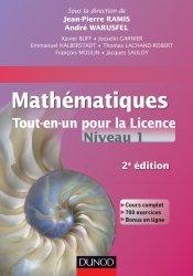 Mathématiques Tout-en-un pour la Licence - Niveau L1