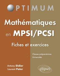 Mathématiques en MPSI/PCSI
