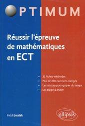 Mathématiques en ECT - Fiches-méthodes, problèmes et annales corrigées