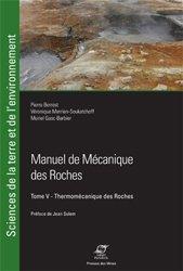 Manuel de mécanique des roches