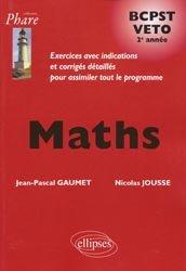 Maths  BCPST  VETO  2e année