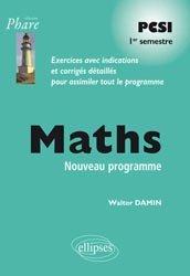 Maths PCSI 1er semestre