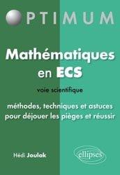 Mathématiques en ECS