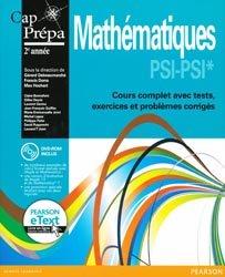 Mathématiques PSI - PSI*2e année
