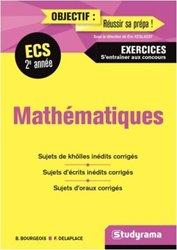 Maths 2e année ECS