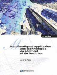 Mathématiques appliquées aux technologies du bâtiment et du territoire