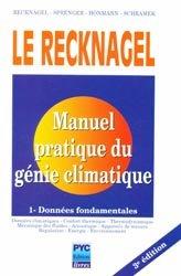 Manuel pratique de génie climatique - Tome 1