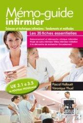 Mémo-guide infirmier - UE 3.1 à 3.5