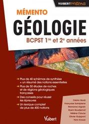 Mémento géologie BCPST 1re et 2e années