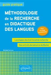 METHODOLOGIE RECHERCHE DIDACTIQUE LANGUES