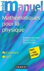 Mini Manuel de Mathématiques pour la Physique