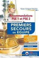 Mise à jour des fiches PSE selon les recommandations de 2018