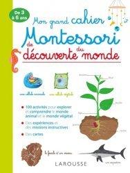 Mon grand cahier Montessori de découverte du monde