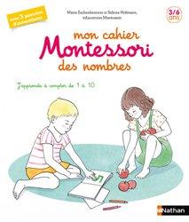 Mon cahier Montessori pour découvrir les nombres