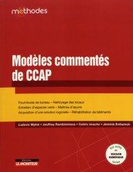 Modèles commentés de CCAP