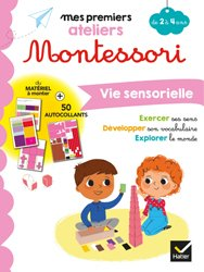 Montessori Vie sensorielle 2-4 ans