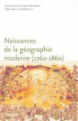 Naissances de la géographie moderne (1760 - 1860)