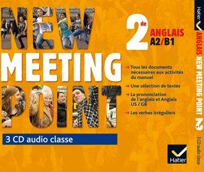 New Meeting Point 2de : 3 CD Audio-Classe