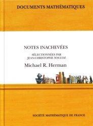 Notes inachevées