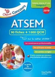 Objectif Concours 2018 ATSEM : 90 Fiches 1000 QCM