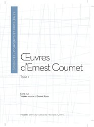 Oeuvres d'Ernest Coumet, Tome 1