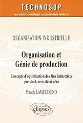 Organisation et génie de production