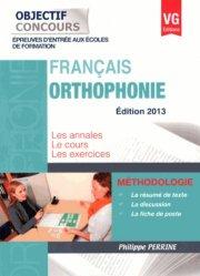 Orthophonie 2013