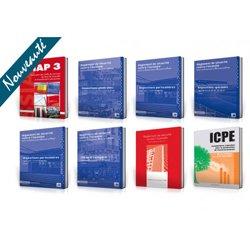 PACK SSIAP 3 OPTIMUM : 8 ouvrages * Dispo. générales-particulières-spéciales-ERP 5e catégorie-IGH-SSIAP3-Bât. d'hab.-ICPE
