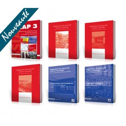 PACK SSIAP 3 PREMIUM : 6 ouvrages * Réglementation non commentée + commentée