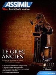 Pack CD - Le Grec Ancien - Débutants et Faux-débutants