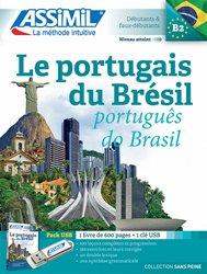 Pack USB Le portugais du Brésil B2 - Avec 1 livre