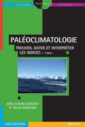 Paléoclimatologie Tome 1