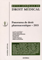 Panorama de droit pharmaceutique 2015