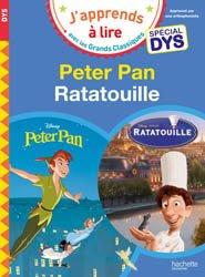 Peter Pan/Ratatouille - Spécial dyslexie