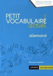 PETIT VOCABULAIRE ACTUEL ALLEMAND