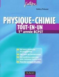 Physique - chimie Tout-en-un 1ère année BCPST