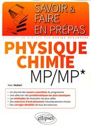 Physique chimie MP/MP*