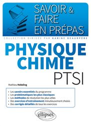 Physique chimie PTSI