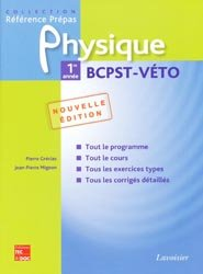 Physique 1ère année BCPST - VÉTO