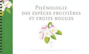 Phénologie des espèces fruitières et fruits rouges