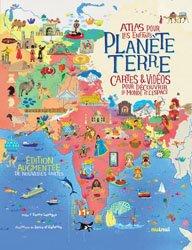 Planète Terre : atlas pour les enfants : cartes & vidéos pour découvrir le monde et l'espace