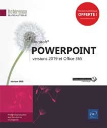 PowerPoint versions 2019 et office 365