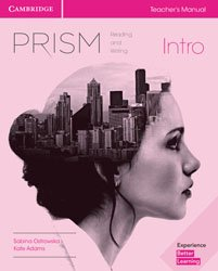 Prism Intro - Teacher's Manual Reading and Writing